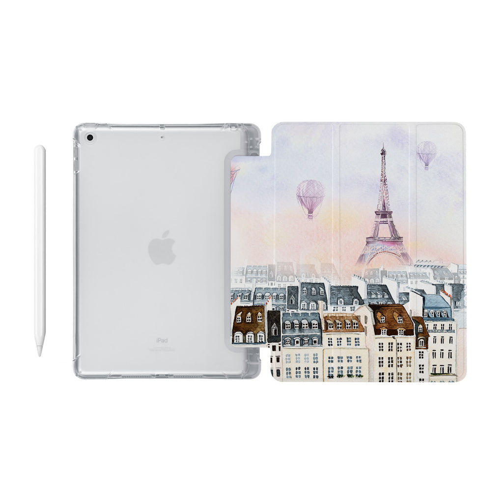 iPad SeeThru Casd with Travel Design Fully compatible with the Apple Pencil