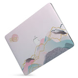 Protect your macbook  with the #1 best-selling hardshell case with Marble Art design