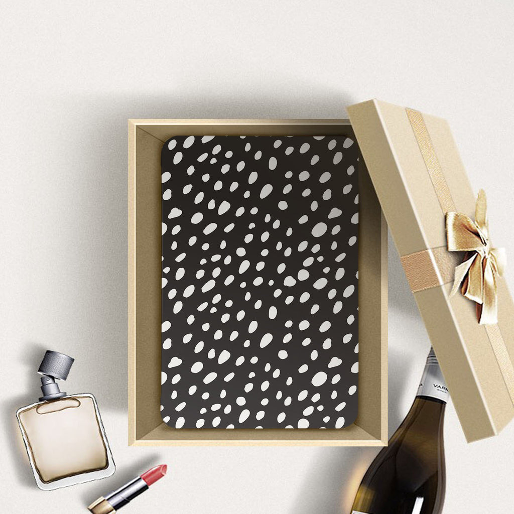 Personalized Samsung Galaxy Tab Case with Polka Dot design in a gift box
