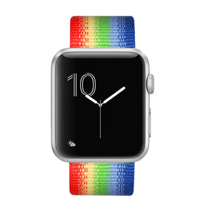 Nylon Band for Apple Watch - Rainbow