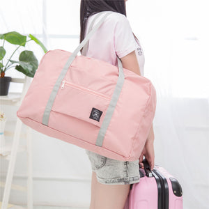 Premium Foldable Travel Bag - Pink