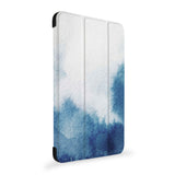 the side view of Personalized Samsung Galaxy Tab Case with Abstract Ink Painting design