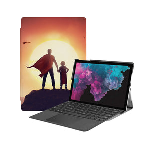 the Hero Image of Personalized Microsoft Surface Pro and Go Case with Father Day design