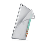 iPad SeeThru Casd with Rusted Metal Design