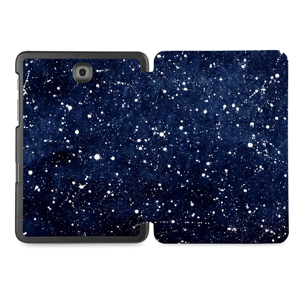 the whole printed area of Personalized Samsung Galaxy Tab Case with Galaxy Universe design