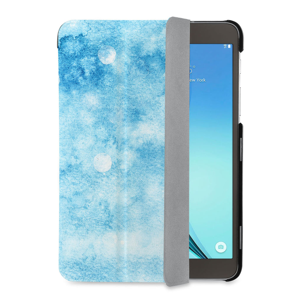 auto on off function of Personalized Samsung Galaxy Tab Case with Winter design - swap