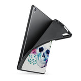 soft tpu back case with personalized iPad case with Gothic design