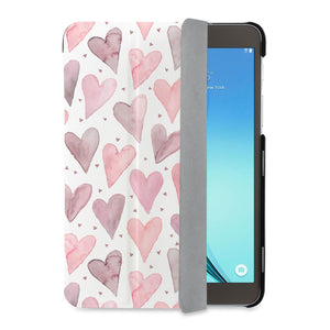 auto on off function of Personalized Samsung Galaxy Tab Case with Love design - swap