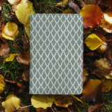personalized RFID blocking passport travel wallet with Elegant Pattern design on maple leafs