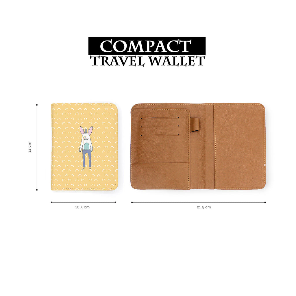 compact size of personalized RFID blocking passport travel wallet with Adventure Collection design