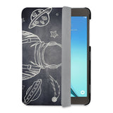 auto on off function of Personalized Samsung Galaxy Tab Case with Astronaut Space design - swap