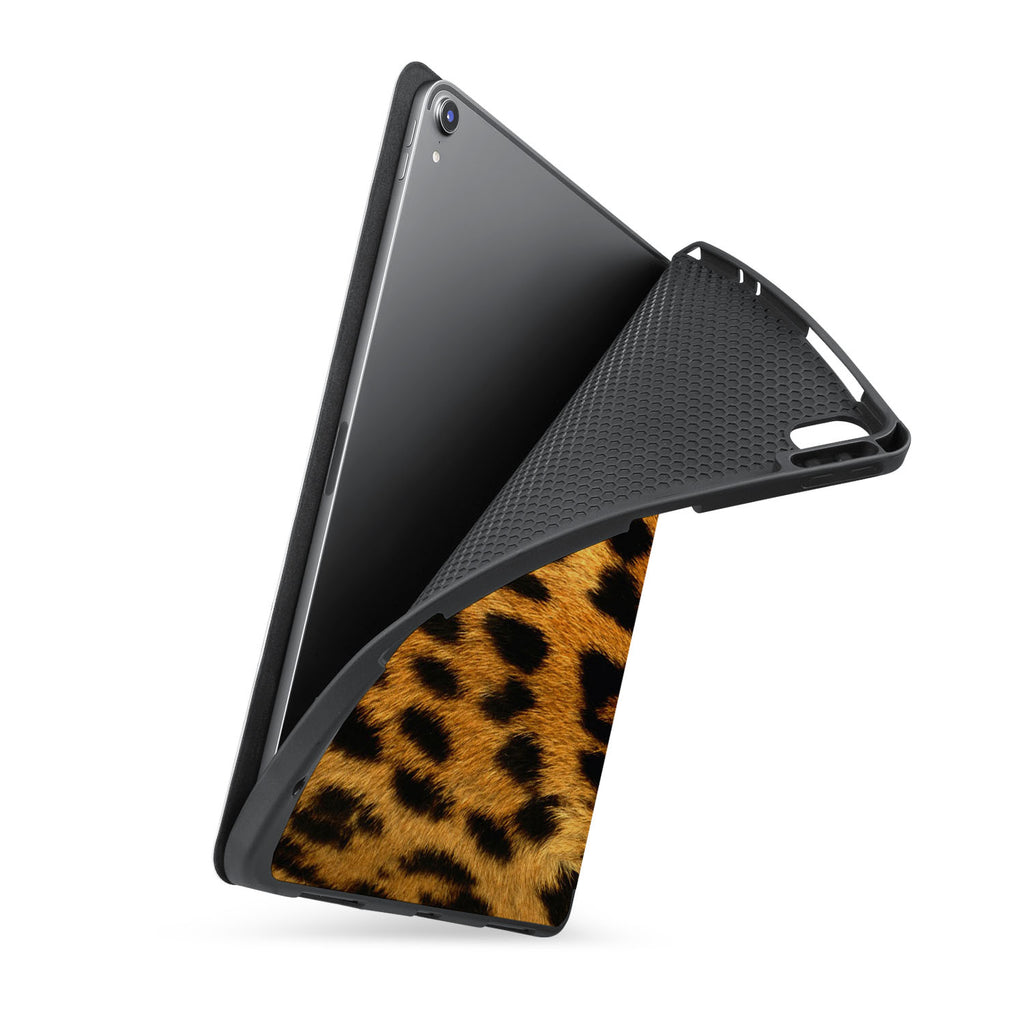 soft tpu back case with personalized iPad case with Animal Skin design