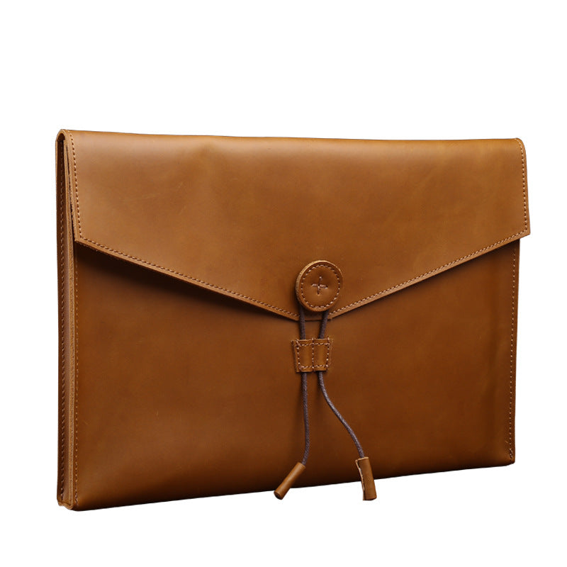 Macbook Genuine Leather Carry Bag