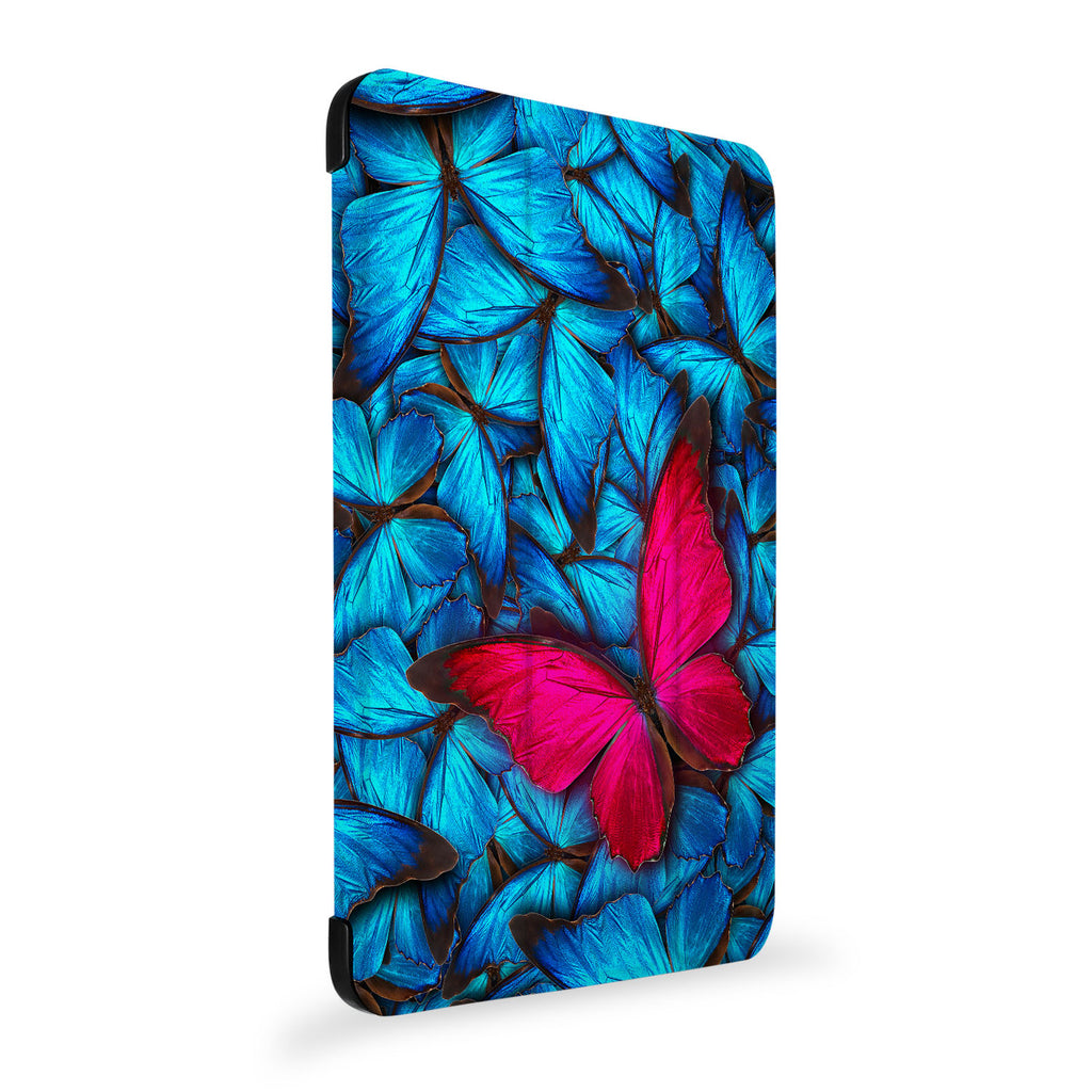 the side view of Personalized Samsung Galaxy Tab Case with Butterfly design