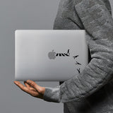 hardshell case with Rock And Roll design combines a sleek hardshell design with vibrant colors for stylish protection against scratches, dents, and bumps for your Macbook