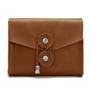 Macbook Genuine Leather Power Adapter Bag