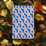 personalized RFID blocking passport travel wallet with 3D Patterns design on maple leafs