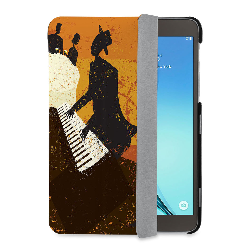 auto on off function of Personalized Samsung Galaxy Tab Case with Music design - swap