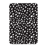 the front view of Personalized Samsung Galaxy Tab Case with Polka Dot design