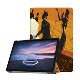 Personalized Samsung Galaxy Tab Case with Music design provides screen protection during transit