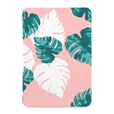 the front view of Personalized Samsung Galaxy Tab Case with Pink Flower 2 design