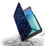 the drop protection feature of Personalized Samsung Galaxy Tab Case with Galaxy Universe design