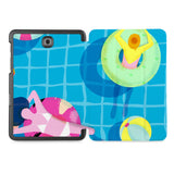 the whole printed area of Personalized Samsung Galaxy Tab Case with Beach design