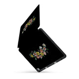 personalized iPad case with pencil holder and Black design