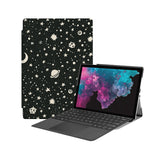 the Hero Image of Personalized Microsoft Surface Pro and Go Case with Space design