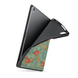 soft tpu back case with personalized iPad case with Blossom design