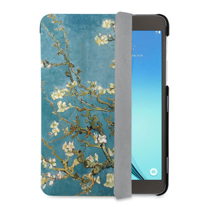 auto on off function of Personalized Samsung Galaxy Tab Case with Oil Painting design - swap