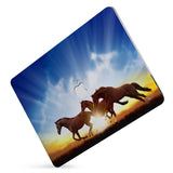 Protect your macbook  with the #1 best-selling hardshell case with Horse design