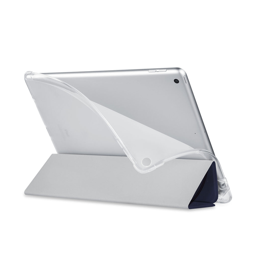 Balance iPad SeeThru Casd with Retro Vintage Design has a soft edge-to-edge liner that guards your iPad against scratches.