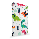 the side view of Personalized Samsung Galaxy Tab Case with Dinosaur design