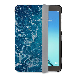 auto on off function of Personalized Samsung Galaxy Tab Case with Ocean design - swap