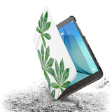 the drop protection feature of Personalized Samsung Galaxy Tab Case with Flat Flower design