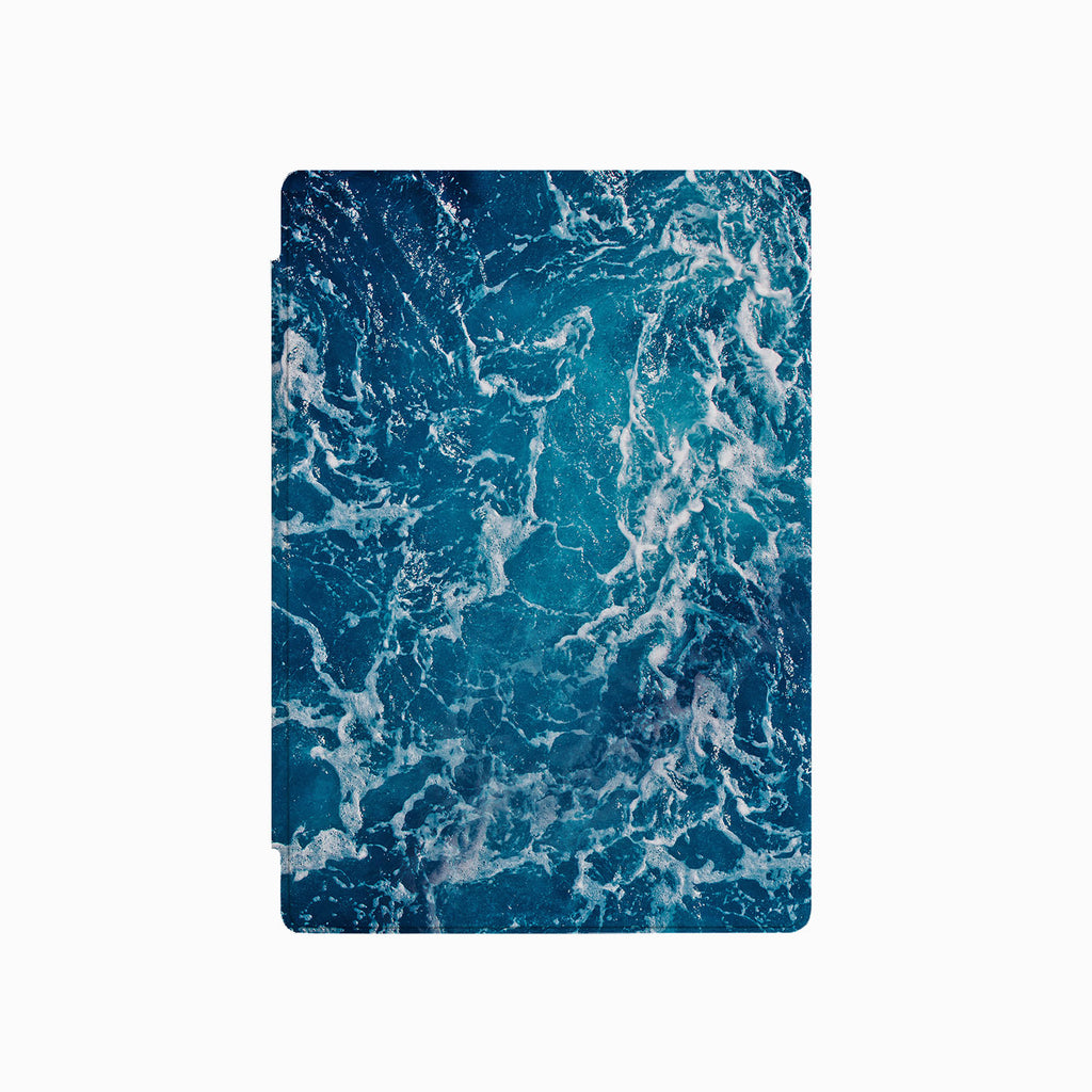 the front side of Personalized Microsoft Surface Pro and Go Case with Ocean design