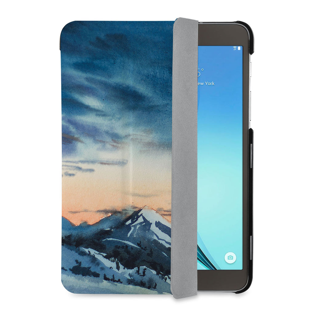 auto on off function of Personalized Samsung Galaxy Tab Case with Landscape design - swap