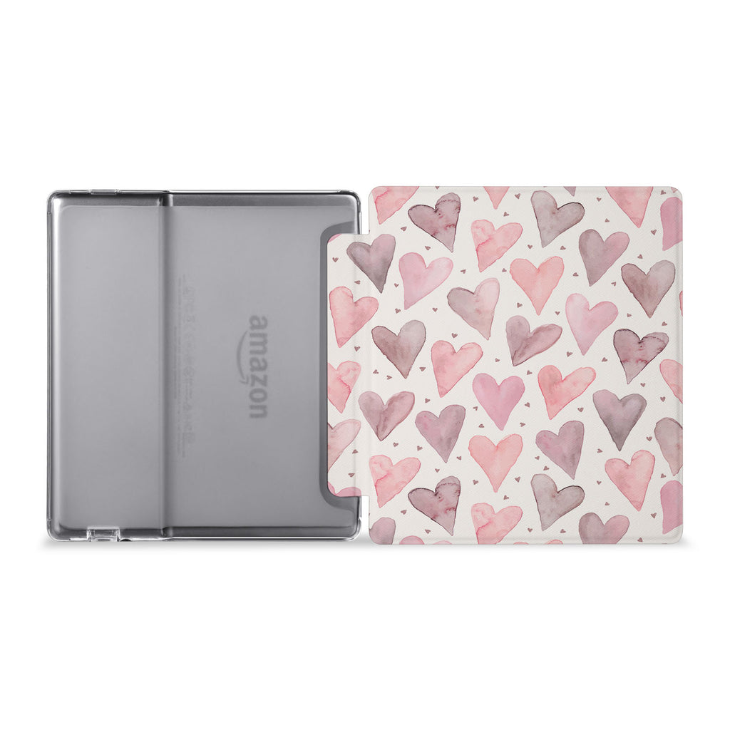 The whole view of Personalized Kindle Oasis Case with Love design