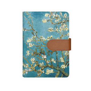 front view of personalized personal organiser with Oil Painting design