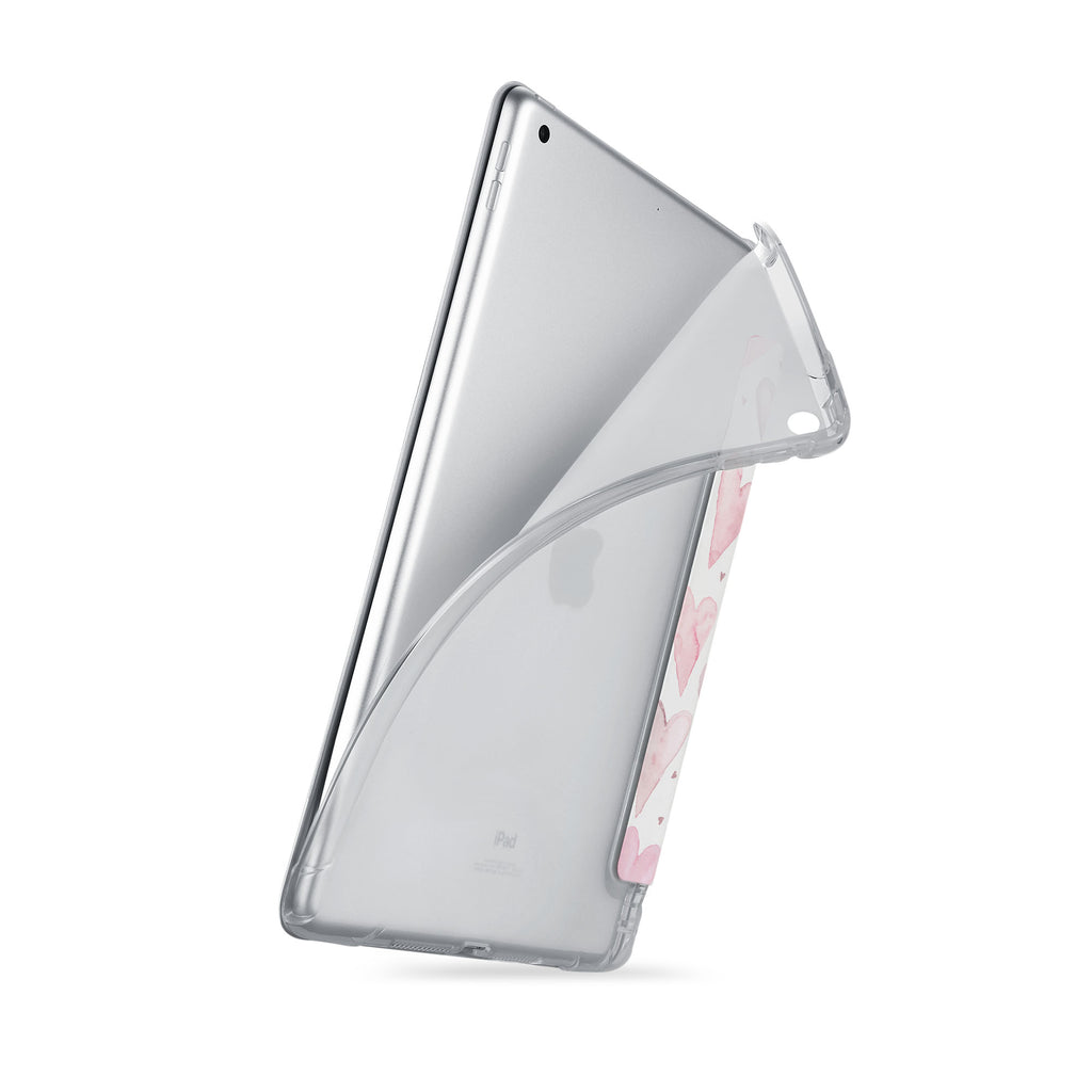 iPad SeeThru Casd with Love Design
