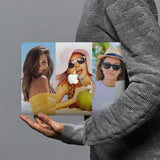 hardshell case with Photo Collage design combines a sleek hardshell design with vibrant colors for stylish protection against scratches, dents, and bumps for your Macbook