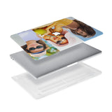 Ultra-thin and lightweight two-piece hardshell case with Photo Collage design is easy to apply and remove