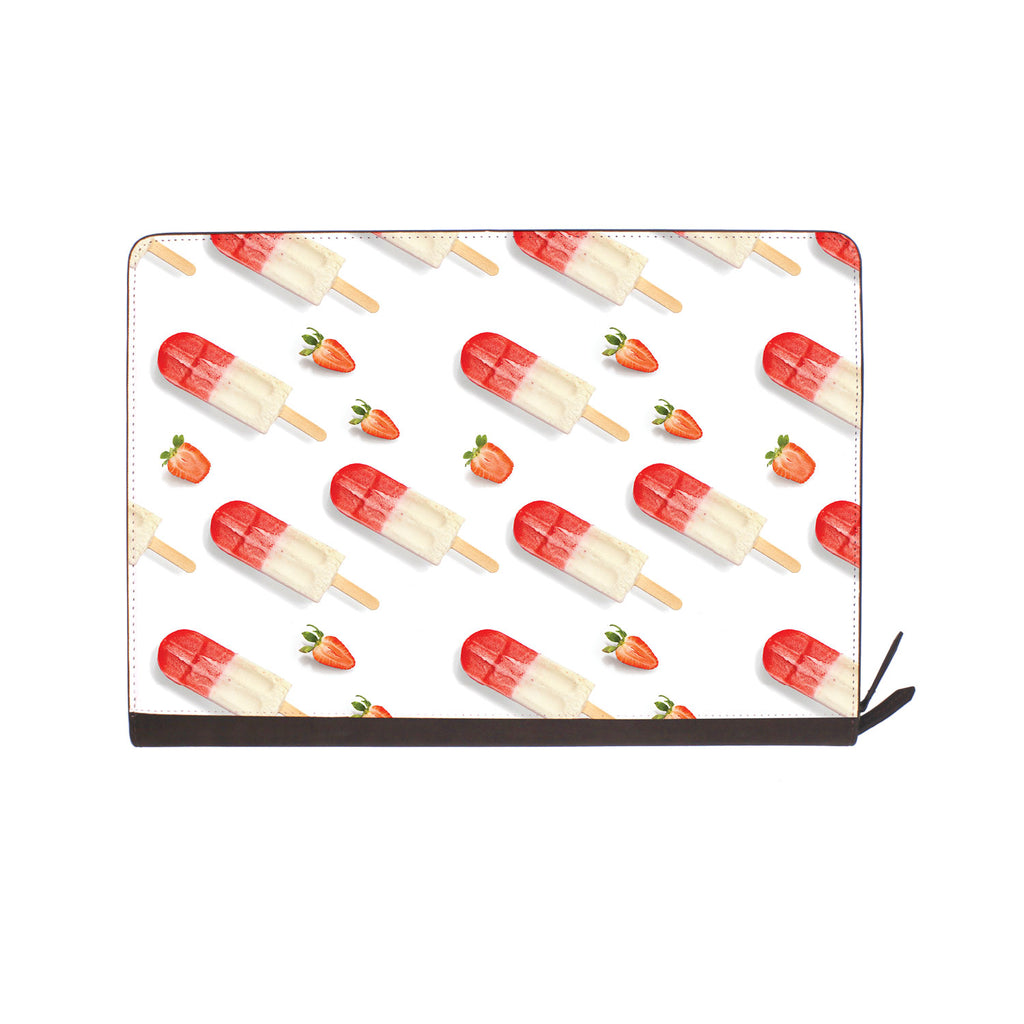 front view of personalized Macbook carry bag case with Sweet design