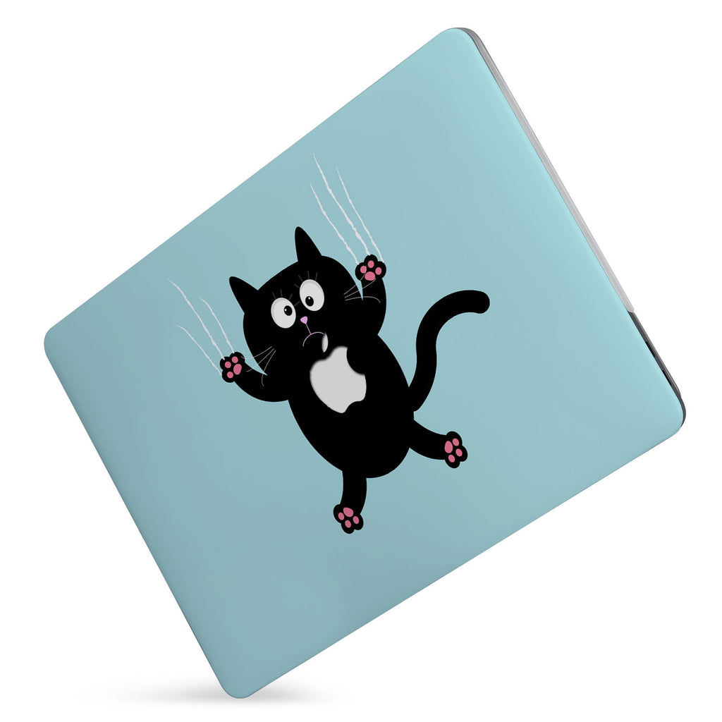 Protect your macbook  with the #1 best-selling hardshell case with Cat Kitty design
