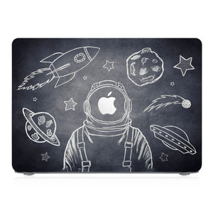 This lightweight, slim hardshell with Astronaut Space design is easy to install and fits closely to protect against scratches