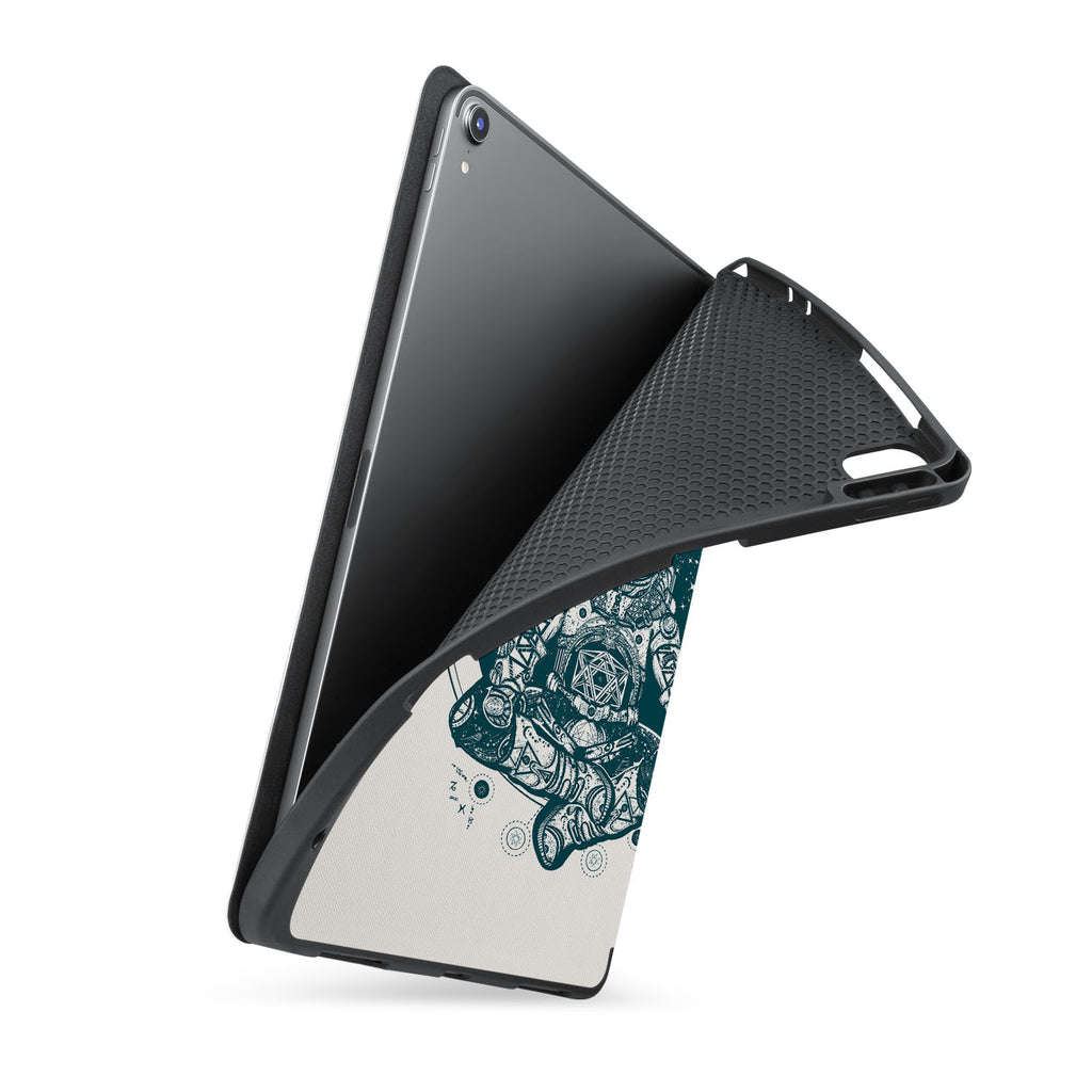 soft tpu back case with personalized iPad case with Zen design