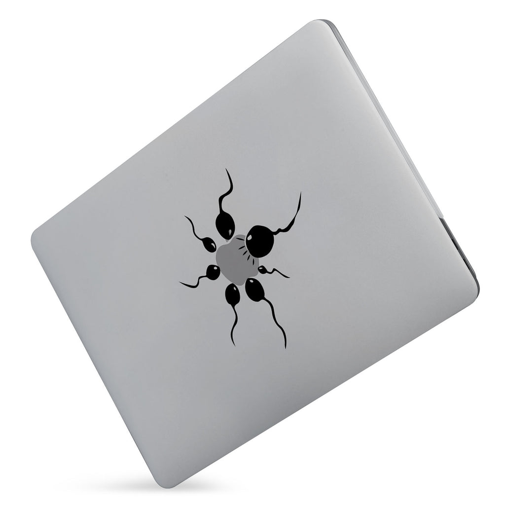 Protect your macbook  with the #1 best-selling hardshell case with AppleLogoFun design