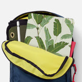 iPad SeeThru Casd with Green Leaves Design has Secure closure