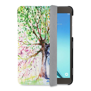 auto on off function of Personalized Samsung Galaxy Tab Case with Watercolor Flower design - swap